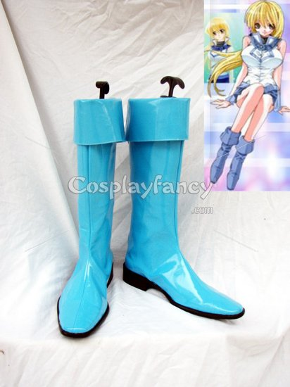 Yu-Gi-Oh! GX Alexis Rhodes Cosplay Shoes Boots Custom Made