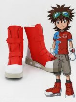 Digimon Fusion Mikey Kudo Anime Cosplay Boots