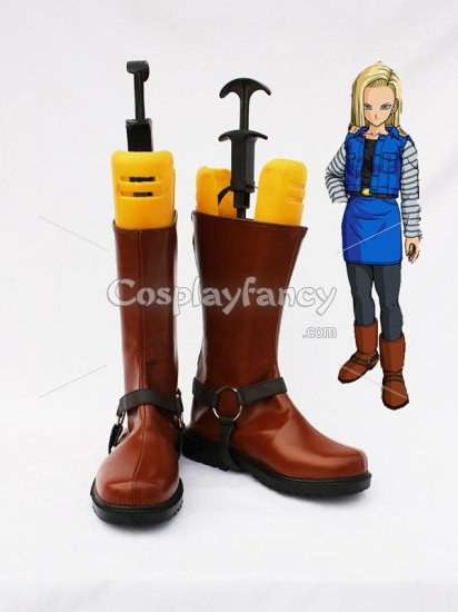 Dragon Ball Android 18 Cosplay Show Boots
