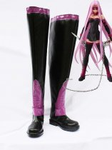 Fate Stay Night Rider Black & Purple Long Cosplay Boots