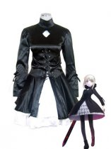 Fate/stay Night Saber Satin Cosplay Costume