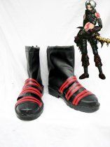 Hack//G.U. Cosplay Haseo Black & Red Cosplay Boots