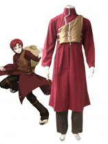 Naruto Cosplay Gaara the Kazekage 2nd Uniform Cosplay Costume