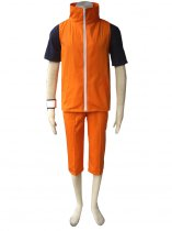 Naruto Cosplay Naruto Uzumaki 3rd Uniform Cosplay Costume