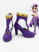 One Piece Cosplay Nico Robin Purple Cosplay Shoes