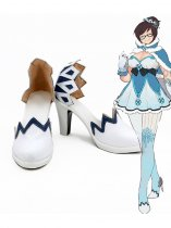 Overwatch Mei Sorrel Cosplay Shoes