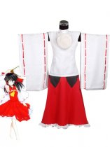 Touhou Project Mountain Of Faith Reimu Hakurei Coplay Costume