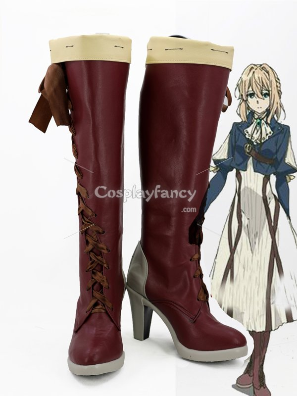Violet Evergarden Anime Violet Evergarden Female Cosplay Boots