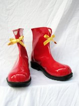 Vocaloid Hatsune Miku Subspecies Red Cosplay Boots