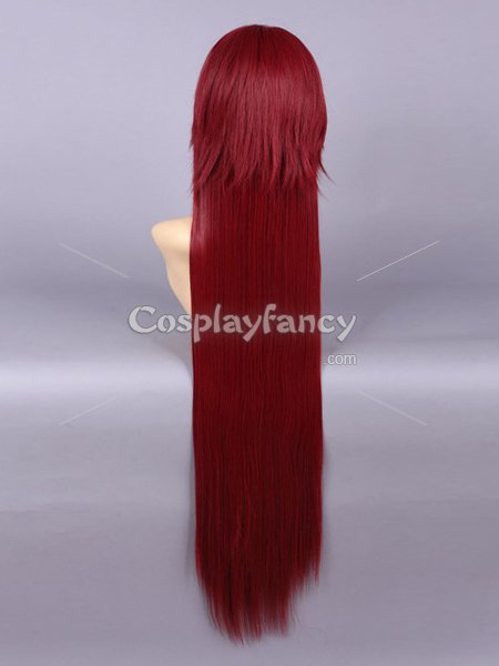 100cm Black Butler Grell Sutcliff Cosplay Wig