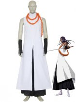Bleach Cosplay Kaname Tousen Arrancar Cosplay Costume