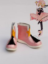 Cardcaptor Sakura Cosplay Sakura Pink Battle Mode Cosplay Boots