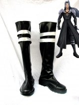 Dissidia Final Fantasy Cosplay Sephiroth Black Cosplay Boots