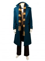 Fantastic Beasts and Where to Find Them Newton Artemis Fido Scamander Cosplay Costume