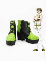 Idolish7 Girls Black Cosplay Boots