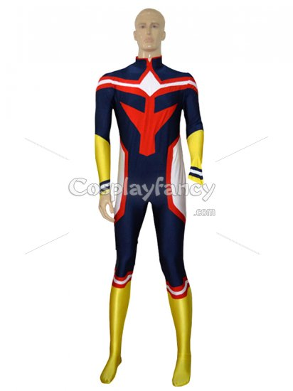 My Hero Academia All Might Lycra Cosplay Costume Mhac009 Us 52 49