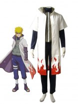 Naruto Cosplay Minato Namikaze 4th Hokage Uniform Cosplay Costume
