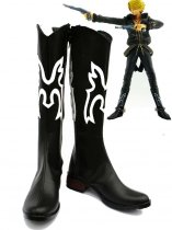 One Piece Cosplay Sanji Black Cosplay Boots