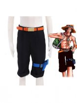 One Piece Portgas D Ace Cosplay Costume/Pants