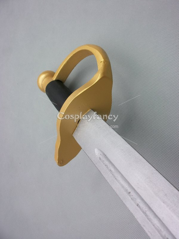 Pirates of the Caribbean Wood Sword Cosplay Sword