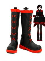 RWBY Red Trailer Ruby Rose Cosplay Boots