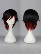 RWBY Red Trailer Ruby Rose Cosplay Wig