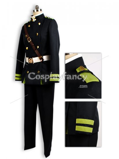 Seraph of the End Yuichiro Hyakuya Uniform Cosplay Costume - Click Image to Close