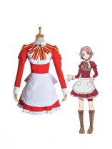 Sword Art Online Cosplay Lisbeth/Rika Shinozak Cosplay Costume