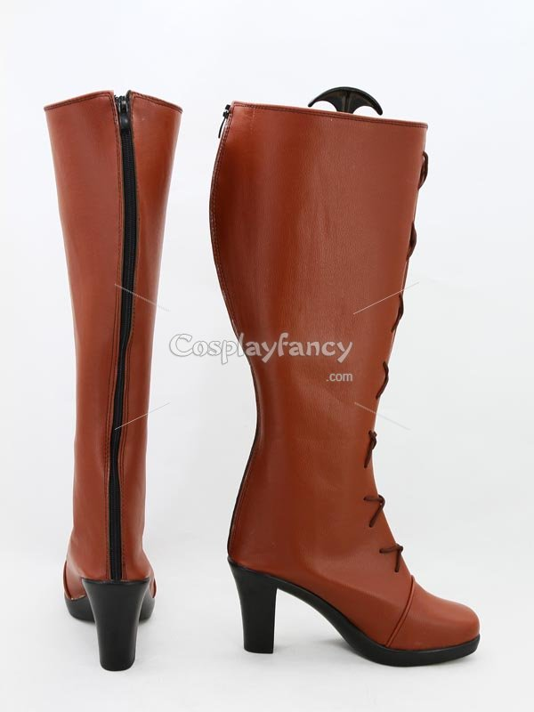 The Legend of Heroes: Sora no Kiseki The 3rd Ries Argent Cosplay Boots