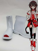 Vocaloid 3 Ling Caiyin PU Cosplay Boots