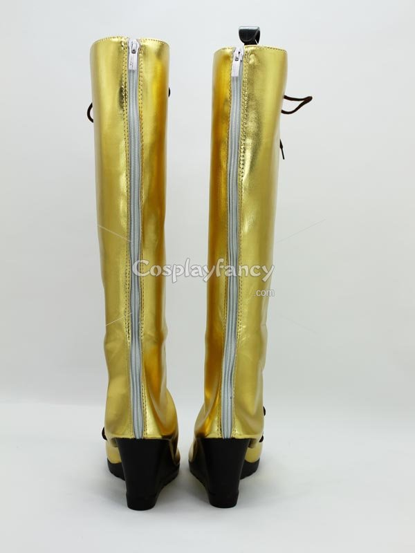 Vocaloid Diva Megurine Luka Wedge Cosplay Boots