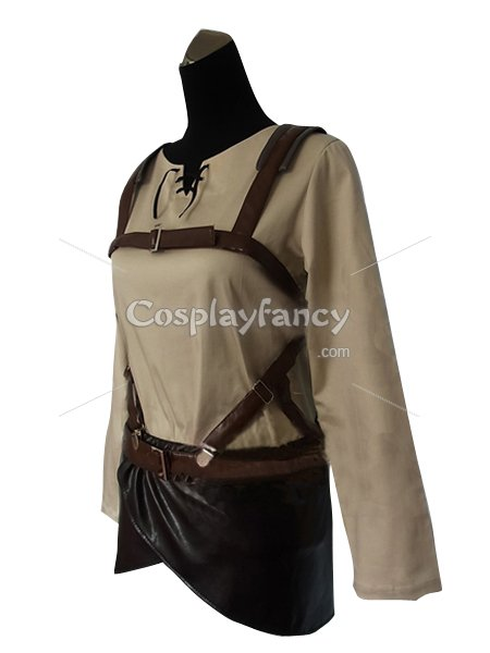 Attack on Titan Eren Yeager Cosplay Costume Trainees Squad Uniform