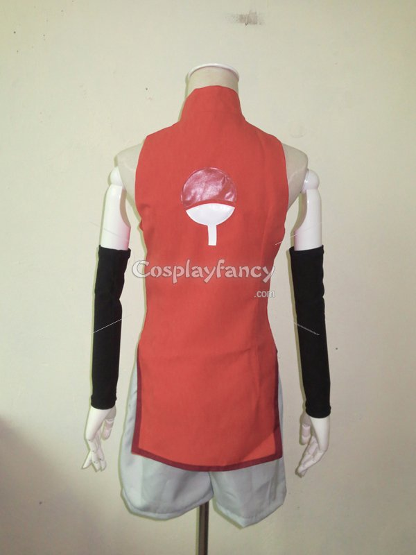 Boruto: Naruto the Movie Uchiha Sarada Cosplay Costume