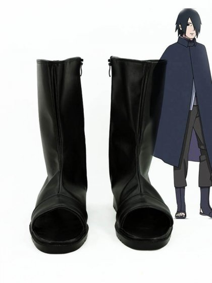 Boruto: Naruto the Movie Uchiha Sasuke Cosplay Ninja Boots
