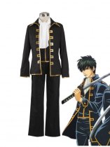 Gin Tama/ Silver Soul Captain of the Shinsengumi Suit Cosplay Costume