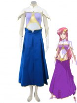 Gundam Seed-Uniform Cloth Meer Campbell Gundam Seed Cosplay Cost