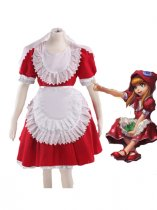 League of Legends Annie Red Cosplay Costume