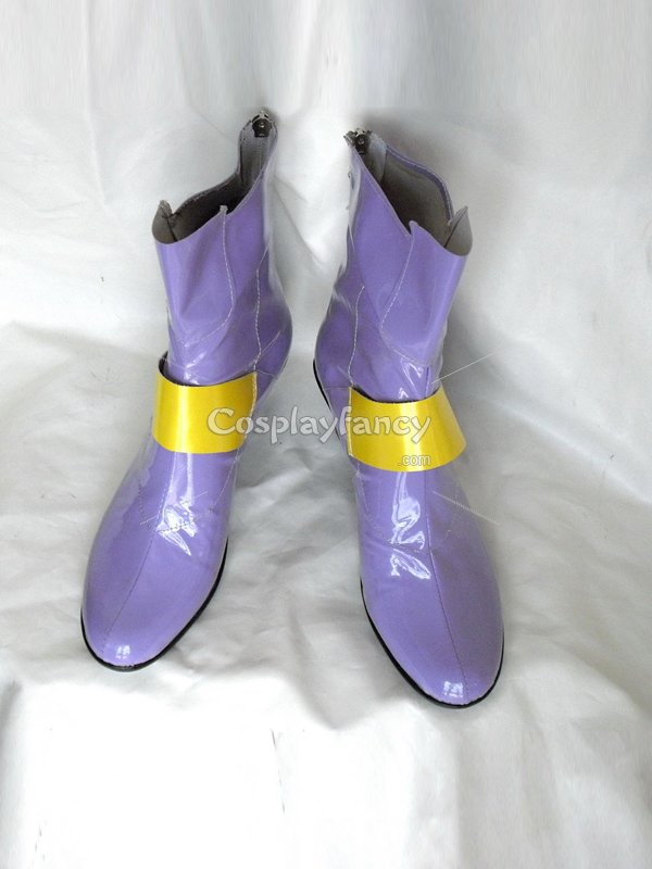 Magical Girl Lyrical Nanoha Fate Testarossa Cosplay Boots