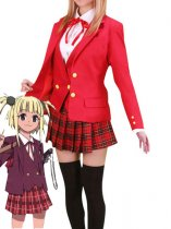 Magister Negi Magi Girls' Uniform Cosplay Costume