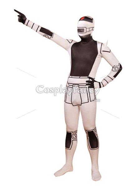 Mobile Suit Gundam Zaku Printing Fullbody Cosplay Costume