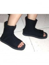 Naruto Cosplay Accessories Ninja Black Cosplay Shoes