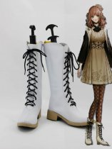 New Amnesia Cosplay Heroine White Cosplay Boots