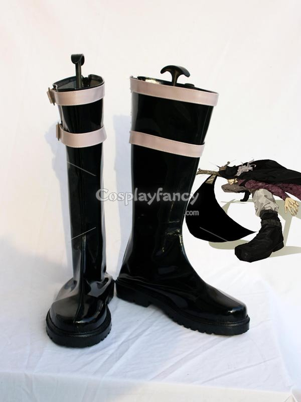 One Piece Mihawk Cosplay Show Boots