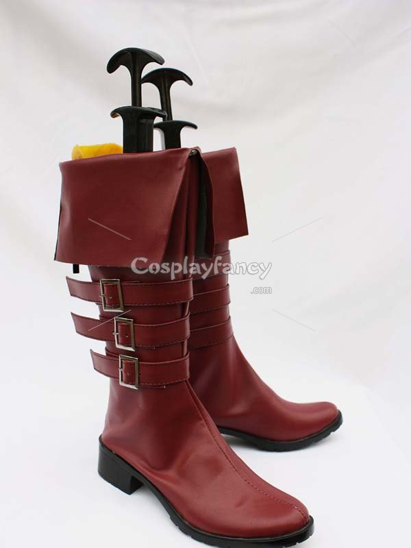 One Piece Perona Cosplay Show Boots