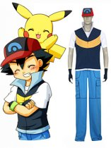 Pokemon Cosplay Ash Ketchum Cosplay Costume 2