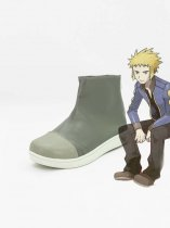 Pokemon Cosplay Volkner Short Cosplay Boots