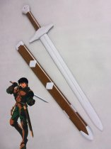 Record of Lodoss War Parn Wood Cosplay Sword