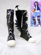 Shugo Chara Beat Jumper Black Cosplay Boots