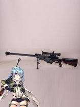 Sword Art Online Phantom Bullet Asada Shino/Sinon PGM Ultima Ratio Hecate II