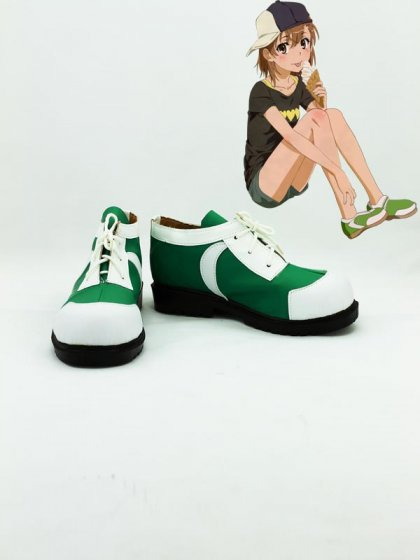 Toaru Majutsu no Index Misaka Mikoto Cosplay Shoes